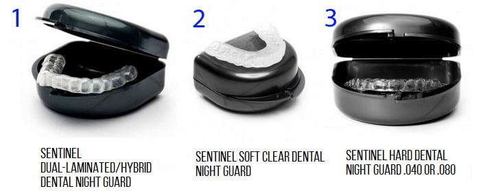 different types of dental night guards