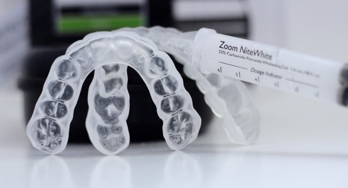best teeth whitening sentinel mouthguards