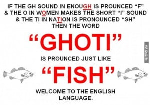 confusing english language