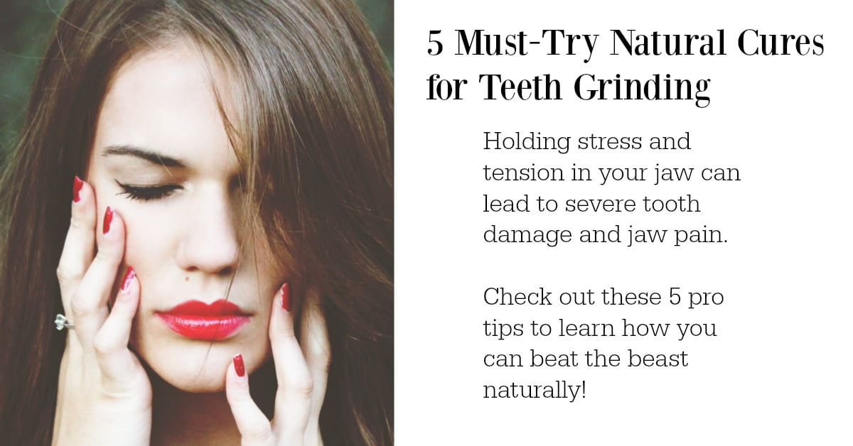 Alternative Tools To Help You Stop Grinding Your Teeth